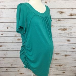 Motherhood Maternity | Teal Summer t-shirt Sz XL